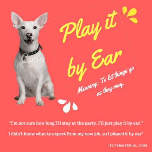 Play it by Ear