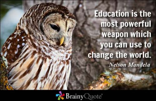 Brainy Quote of Nelson Mandela 001