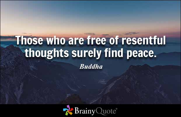 brainy quote those who are of resentful thoughts surely